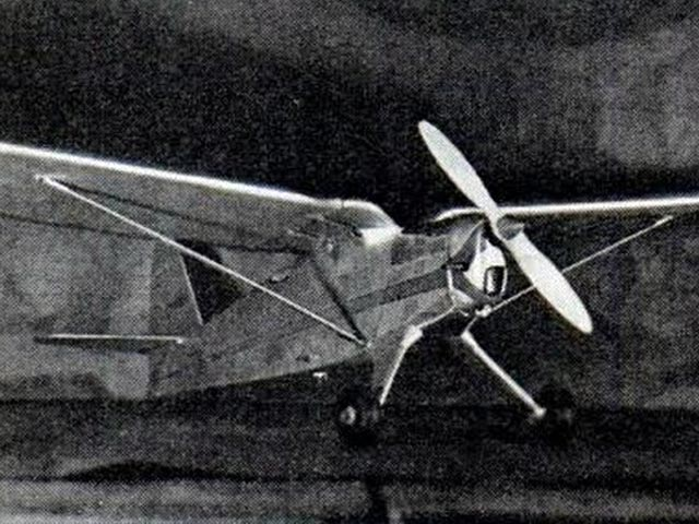Gull Wing (oz3176) by Paul Lindberg from Popular Aviation 1940
