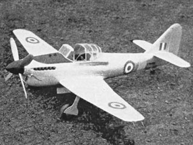 Avro Athena (oz3197) by WI Barrett from Model Aircraft 1959