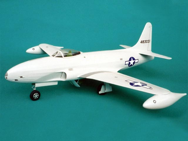 Lockheed P-80A Shooting Star (oz3208) by John Bell from Bell Models