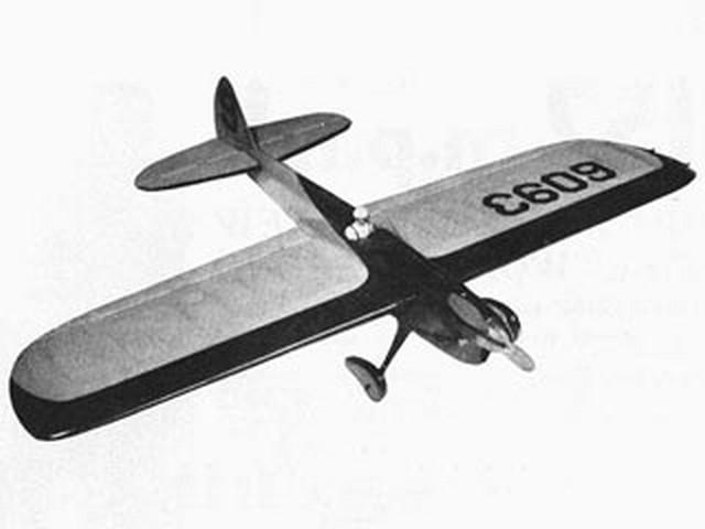 Scimitar (oz3218) by Bill Morley from Model Aircraft 1958