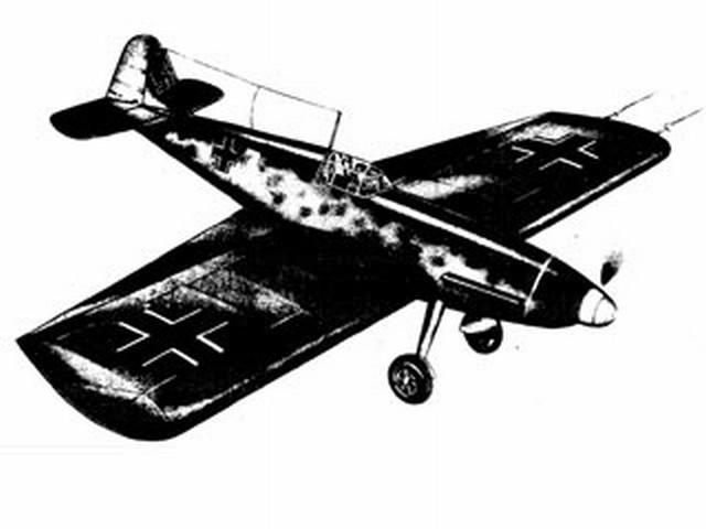 BF 109 (oz3221) from Aeroflyte