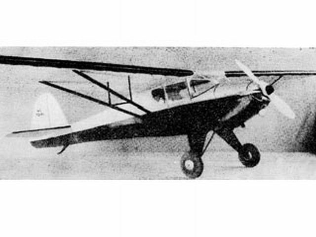 Taylorcraft (oz3227) from Miniature Aircraft Corp 1942