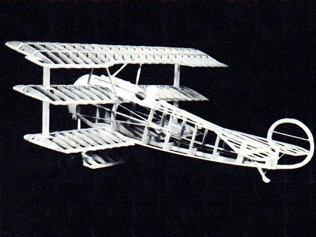 Fokker Dr1 (oz3234) from Sterling