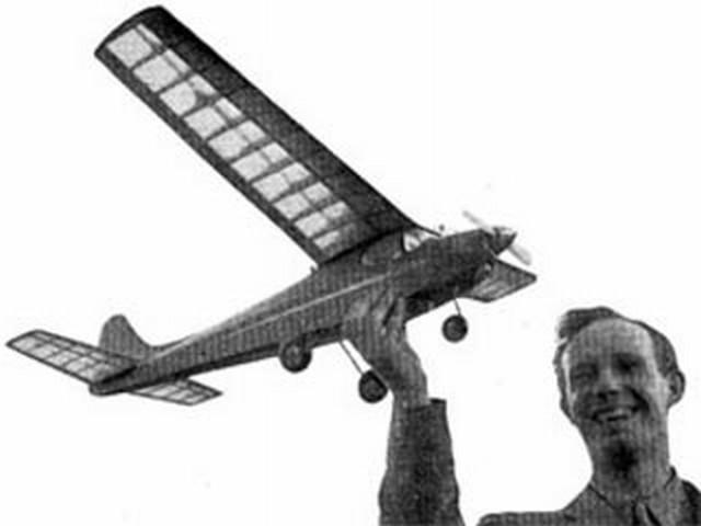 Envoy (oz3250) by Cyril Shaw from Aeromodeller 1952