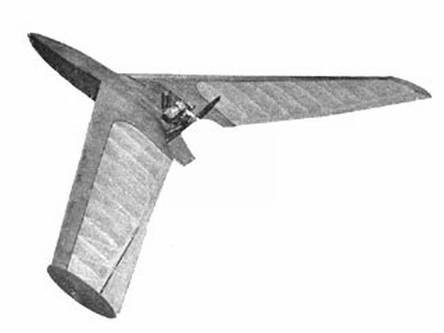 Kloudet (oz3260) by L Ellis from Model Aircraft 1958