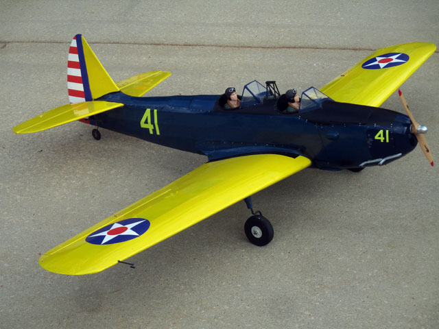 Fairchild PT-19 - completed model photo