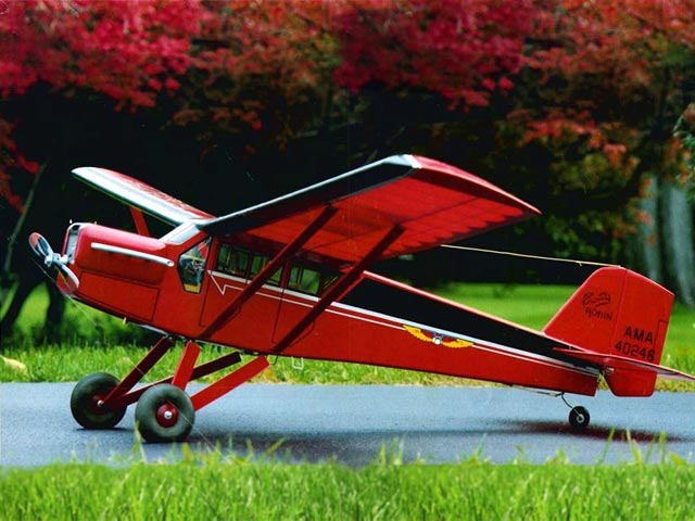 Curtiss Robin (oz3285) by Joe Konefes from Model Builder 1978