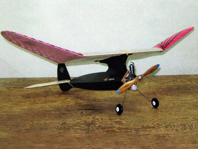 Baby Burd (oz3297) by Chester Lanzo from Burd Model Airplane 1938