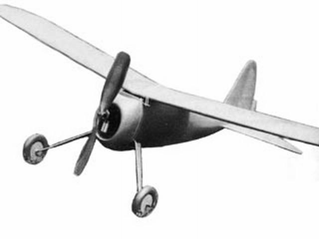 Natsneez Junior (oz3302) by G Elsegood from Aeromodeller 1986
