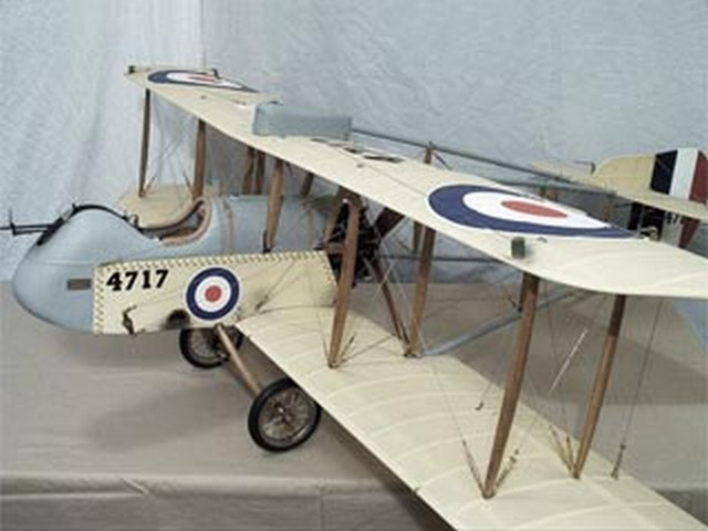 DeHavilland DH-2 - completed model photo