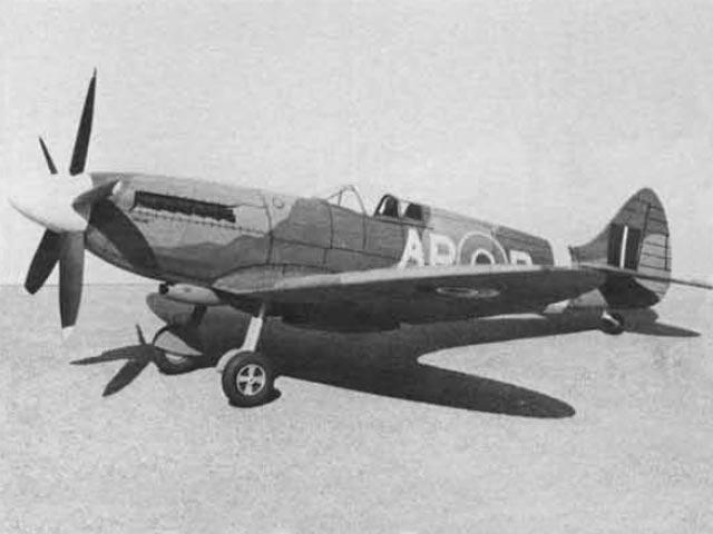 Supermarine Spitfire Mk XIV (oz3312) by John Bell from Bell Models