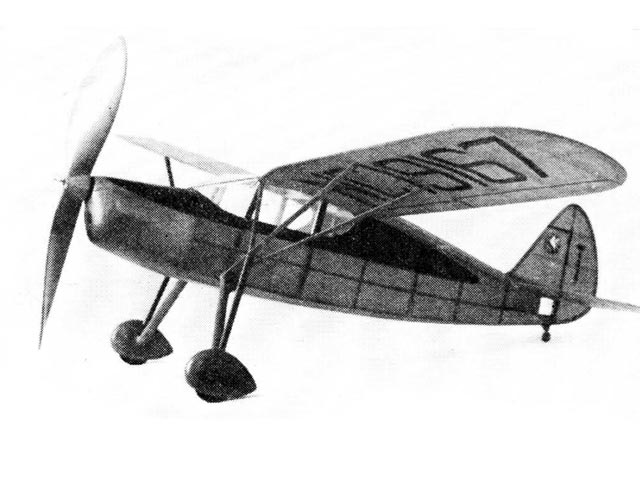 Fairchild 24 (oz3322) by Earl Stahl from Model Airplane News 1940