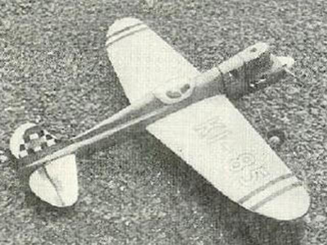 Super Saint (oz3331) by Ken Marsh from Aeromodeller 1952