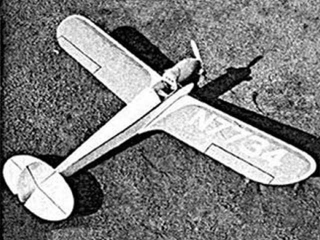 Longster Wimpy (oz3332) by Walt Mooney from Model Airplane News 1954