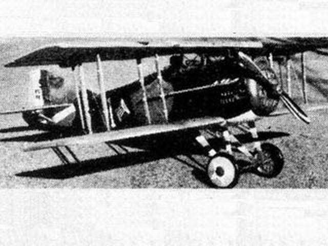 Spad XIII (oz3342) by Lou Perretti from Aerotec 1974