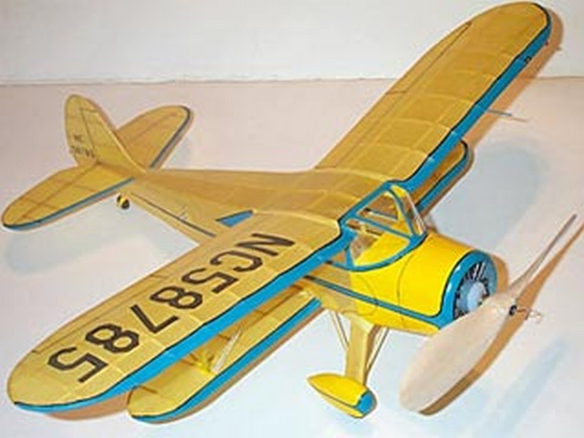 Waco SRE - completed model photo