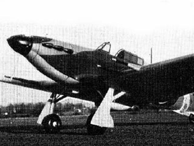 Hawker Hurricane (oz3395) by Richard Meixell from Aeromodeller 1964