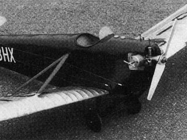 DH 53 Humming Bird (oz3436) by Jim Fullarton from Aeromodeller 1987