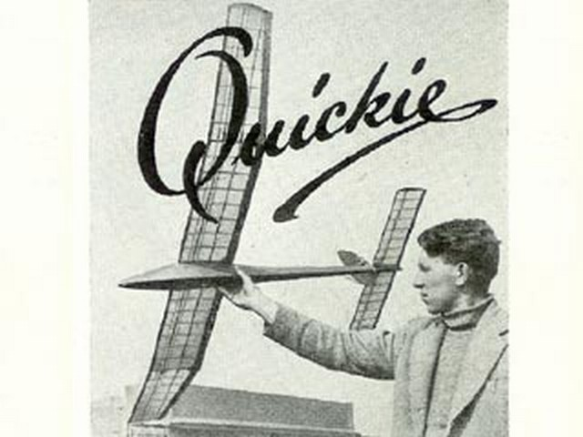 Quickie (oz3444) by Ray Monks from Aeromodeller 1952