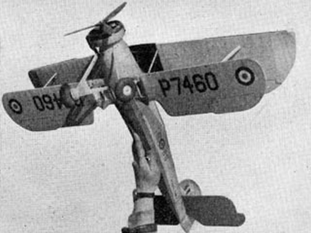 Fairey Swordfish Mk1 - completed model photo