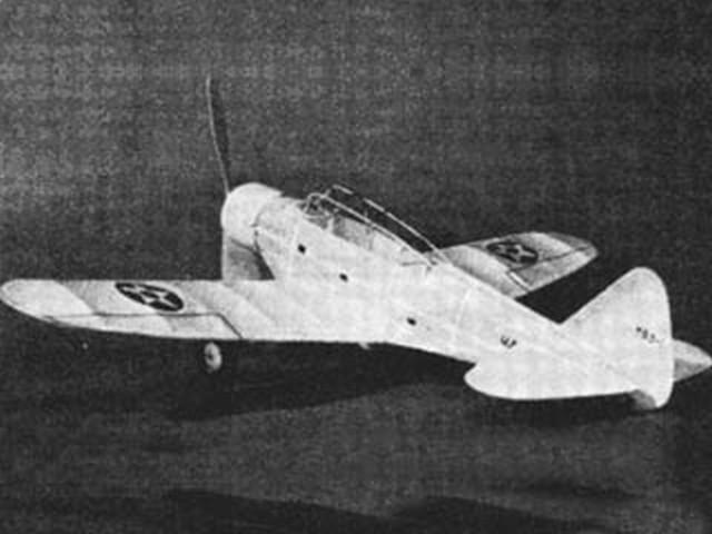 Douglas TBD-1 (oz3463) by Herbert K Weiss from Model Airplane News 1939