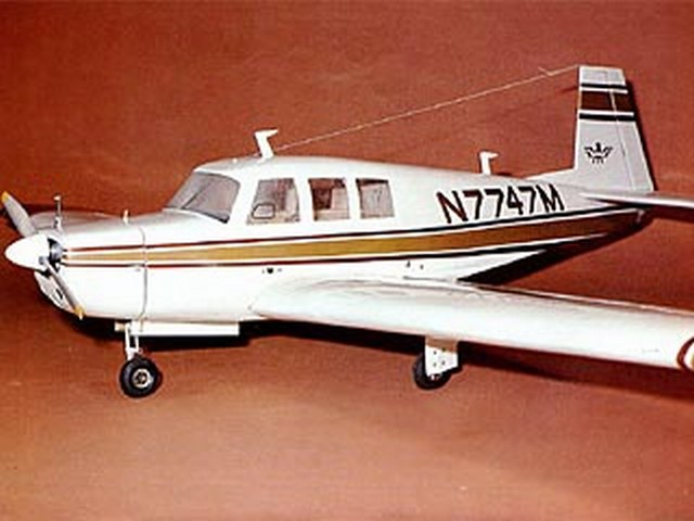 Mooney Executive - completed model photo