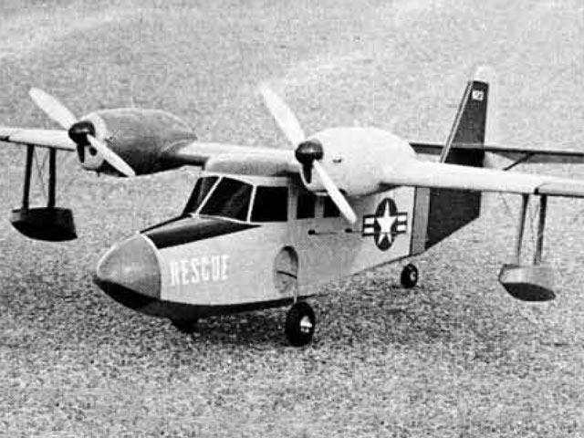 Grumman G-44 Widgeon (oz3469) by Paul Palanek from Flying Models 1960