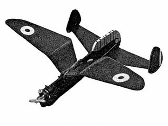 Arsenal Delenne (oz3500) by NP Harrison from Model Aircraft 1965
