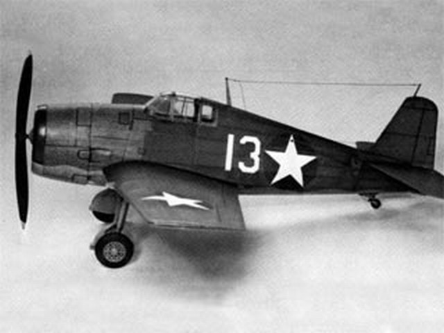 Grumman F6F Hellcat (oz3505) by Bill Hannan from Flying Scale Models of WWII 1976