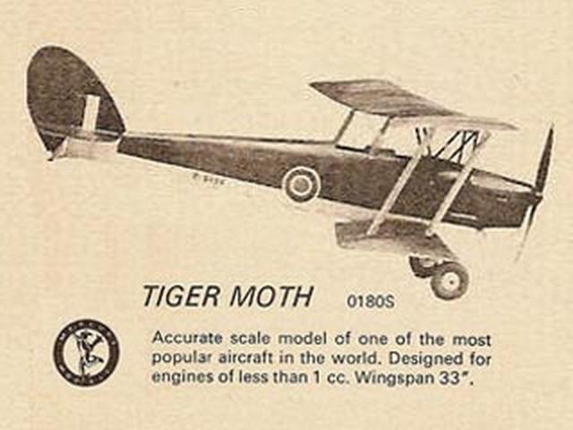Tiger Moth (oz351) by HJ Nicholls from Mercury 1953