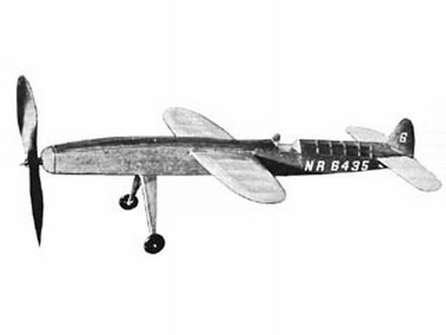 Polecat (oz3515) by Brian Faulkner from Model Aircraft 1962