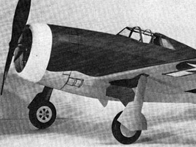 P-47D Thunderbolt (oz3517) by EI Coleman from Flying Scale Models of WWII 1976