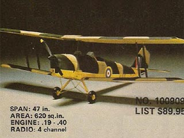 Tiger Moth (oz3522) by Y Matsumoto from OK Model Pilot 1970