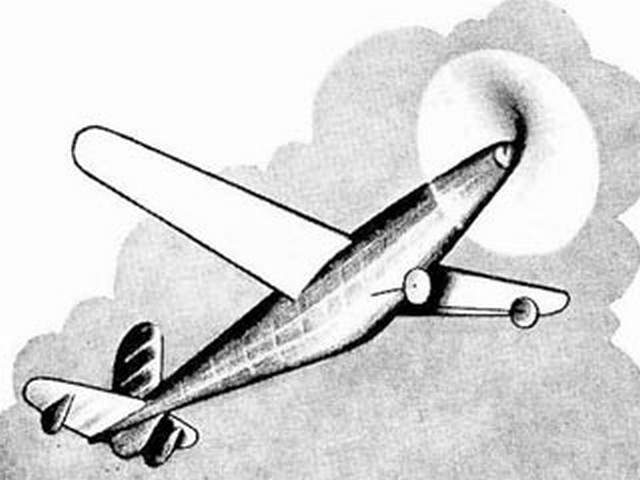 Bryton Roc (oz3524) by FH Boxall from Model Aircraft 1950
