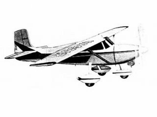 Cessna 172 (oz3556) by Walt Musciano from Scientific 1960