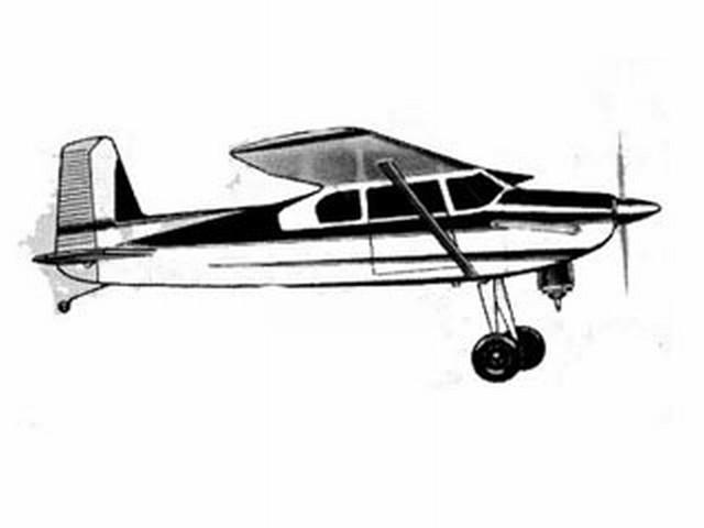 Cessna 180 (oz3557) by Walt Musciano from Scientific 1960