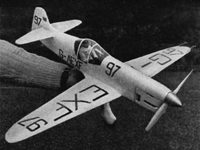 Mew Gull (oz3566) by HC Thomas from Aeromodeller 1955