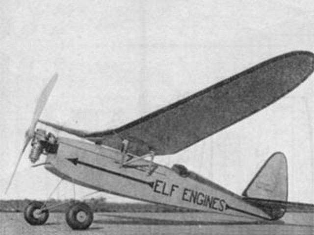Miss San Diego (oz3569) by Elbert J Weathers from Model Airplane News 1939