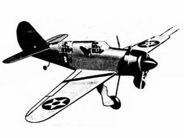 Curtiss SB2-C Helldiver (oz3571) by Walt Musciano from Scientific