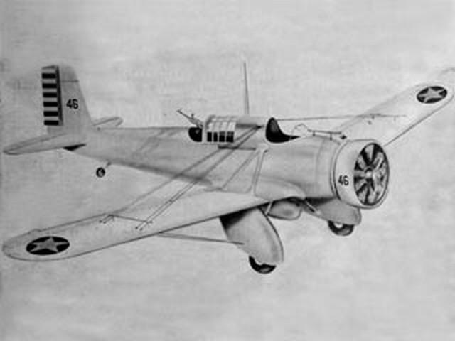 Curtiss A-12 Shrike (oz360) from Berkeley