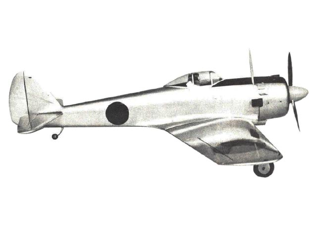 Nakajima Ki-43-2b Hayabusa (oz3608) from Royal Marutaka