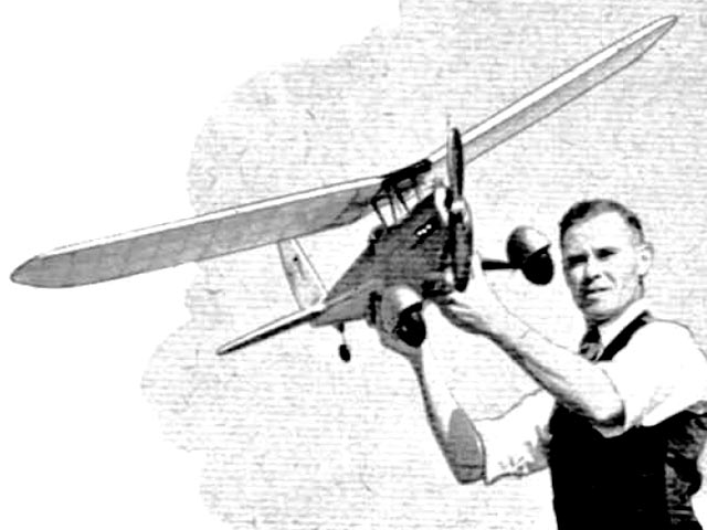 Challenger (oz3625) by JA Newton from Model Aircraft 1950