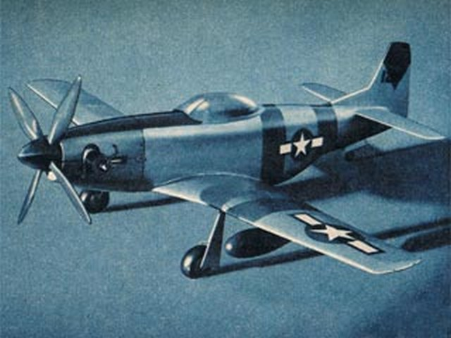 P-51D Mustang (oz3633) by Larry Eisinger from Mechanix Illustrated 1946