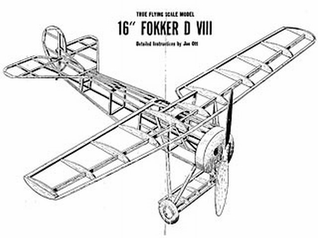 Fokker D8 (oz3639) by Joe Ott