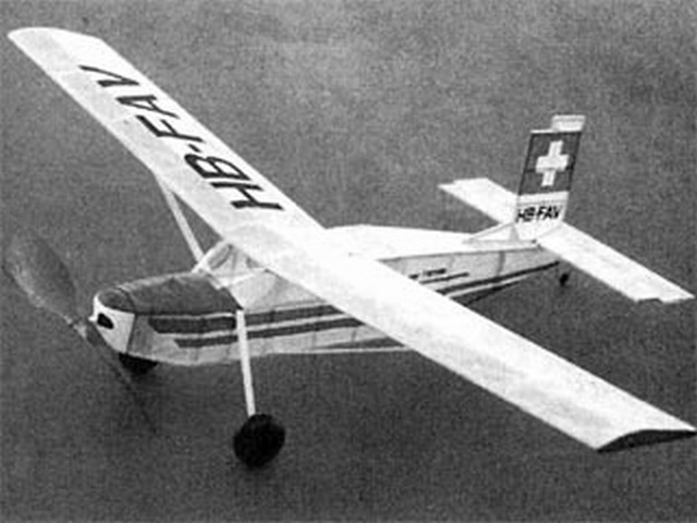 Pilatus Porter (oz3644) by Dave Linstrum from Aeromodeller 1997