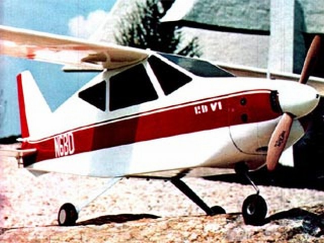 Bede BD-6 (oz3645) by Bob Aberle from Flying Models 1975