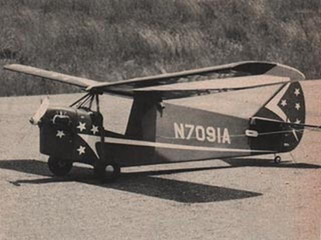 EAA Headwind (oz3654) by Al Wolsky from Flying Models 1975