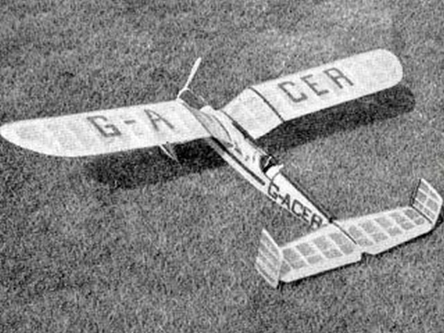 Gullie (oz3707) by CE Read from Model Aircraft 1963