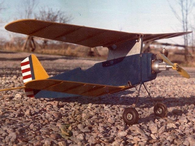 Curtiss Hawk (oz3712) by AJ Dorrell from Aeromodeller 1969