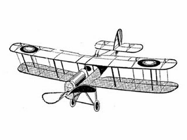 De Havilland (DE H-4) Battle and Mail Plane (oz3714) from Ideal 1919